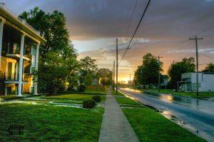 Cherry Street in Springfield, MO